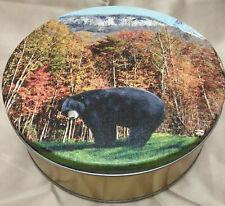 Yonah Mountain Bear Tin Music Box - America The Beautiful