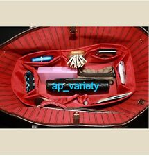 Bag Organizer Base Shaper Internal Bag for LV Neverfull MM in RED COLOR