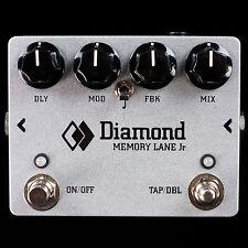 NEW DIAMOND MEMORY LANE JR DELAY ECHO - BOUTIQUE ANALOG PEDAL - TRANSPARENT TONE