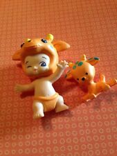 TWOZIES SEASON 1~Common Boy Orange Giraffe SET Lofty & Stretch  MOOSE~Shopkins
