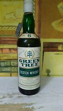 """Whisky Green Tree 6 Years old Low Robertson """"Port ellen""""  75cl 40% anni 70"""