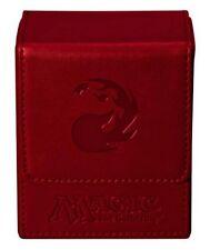 MAGIC Mana Flip Box Red Rosso Deck Box MTG Ultra Pro