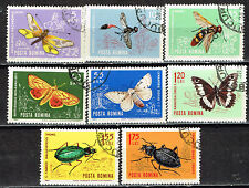 Romania Founa Insects Butterflies 1964 set
