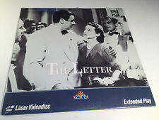 The Letter Rare Sealed Laserdisc 1940 Bette Davis OOP HTF William Wyler Classic