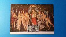 FRANCE CARTE MAXIMUM YVERT 1061 JUMELAGE REIMS FLORENCE 12F REIMS 1956 L 186