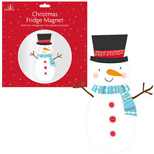 Christmas Fridge Magnet Fun Novelty Home Office Decoration - Snowman