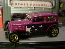 2014 Hot Wheels MIDNIGHT OTTO☆Purple Haze; gold 5sp☆Loose☆Multi Pack Exclusive