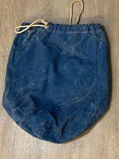 Vintage Cotton Sailing Bag
