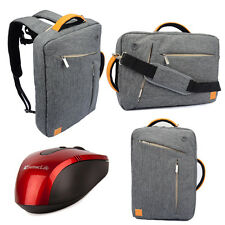 "17""  Laptop Backpack Messenger Bag Briefcase for ASUS ROG G750JS + Mouse"