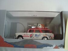 NEW ODEON 014- PEUGEOT 404 BREAK TDF 1966 PUBB. STIHL BEAL 1/43 NUOVO IN SCATOLA