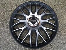 4 Radkappen 16 Zoll Orden black matt für Fiat 500L