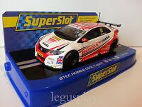 Slot Scx Scalextric Superslot H3783 Btcc Honda Civic Type R Nº52 Btcc 2015 yuasa