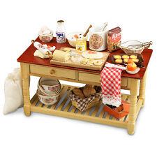 Reutter Porcelain Dolls House 1:12 Scale Baking Table 1.727/4