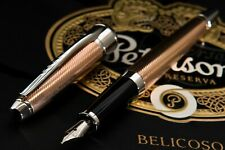 CROSS APOGEE ROSE PINK GOLD WITH PLATINUM FOUNTAIN PEN 18K SOLID GOLD (M)✒️