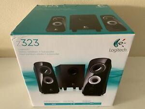 Logitech - Z323 Speaker System - Black (Open Box - Brand New)