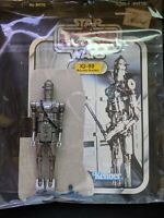 Vintage IG-88 Star Wars Action Figure 1980 Hong Kong - COMPLETE w/ Card Back