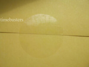 100 to 5000 Permanent Clear Gloss Round Sticky Tape Discs/Labels/Stickers/Seals