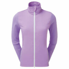 FootJoy Womens Thermal Quilted Golf Jacket 96098 size small Orchid Purple White