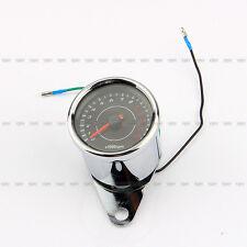Universal DC 12V LED Motorcycle Backlight Tachometer Speedometer Tacho Gauge NEW
