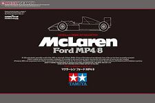 Tamiya 1/20 McLaren Ford MP4/8 F1 Formula One Model Car Kit #25172