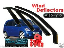 Opel / GM / Vauxhall MERIVA  2003 - 2010 Wind deflectors  4.pc  HEKO  25378