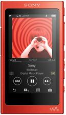 SONY NW-A35 MP3 Player 16 GB Rot Bluetooth Micro SD Farbdisplay **NEU&OVP**