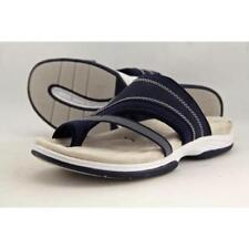 Sandalias y chanclas de mujer Easy Street de tacón bajo (menos de 2,5 cm) de lona
