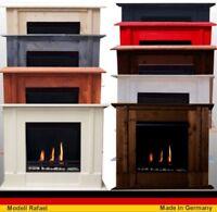 Caminetto Caminetti Camino Fireplace Cheminee Rafael  Premium - Scegli il colore