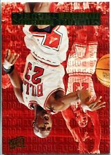 Michael Jordan 1995 Fleer Ultra Double Trouble Card