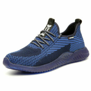 Mens Safety Trainers Shoes Boots Work Steel Toe Cap Composite Lightweight Sports