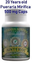 Ainterol Pueraria Mirifica 500mg 20 YEARS ANNIS Breast Enlargement FREE SHIP US