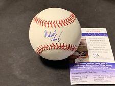 Michael Chavis Boston Red Sox Autographed Signed Baseball JSA COA