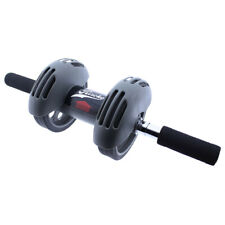 Rueda abdominal ab wheel rodillo fitness para abdominales power stretch roller