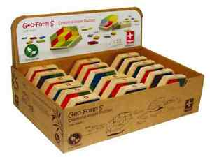Hape 897556 Wooden Mixed Shape Bamboo Puzzle NEW