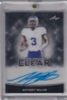 Anthony Miller 2018 Leaf Trinity Clear Acetate Rc On Card Auto