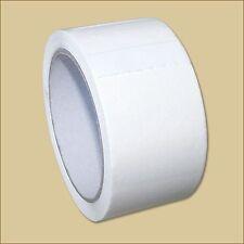 2 Klebeband Rollen 50 mm x 66 m WEISS PP Leise abrollbar weiß Packband
