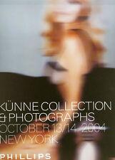 Phillips ///  Photographs Kunne Collection Post Auction Catalog 2004