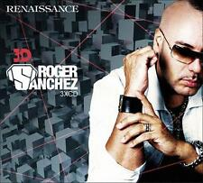 ROGER SANCHEZ = Renaissance 3D = Lopez/Grey/Garcia...=3CD= HOUSE PROGRESSIVE !!