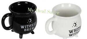 Witches Brew Cauldron Mug Pagan Wiccan Gift Halloween Birthday Christmas