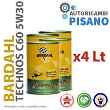 4 LITRI DI OLIO MOTORE ORIGINALE BARDAHL 5W30 C60 TECHNOS EXCEED 322040