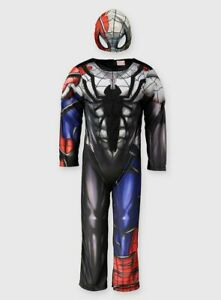 Boys Kids Official Marvel Spider-Man Maximum Venom Fancy Dress Costume