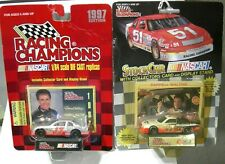 """DARRELL WALTRIP WESTERN AUTO PARTS AMERICA LOT OF TWO (INCLUDING """"CHROME CAR"""")"""