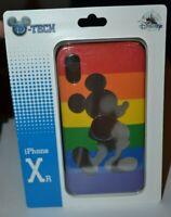 Disney D-Tech Rainbow Mickey Mouse iPhone XR Cell Phone Case