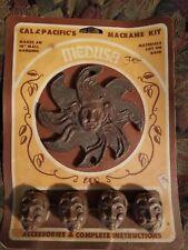 Medusa Macrame Kit Cal Pacific's Crafts Vintage 1980