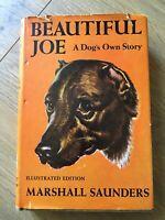 Beautiful Joe Marshall Saunders 1920 Illustrated Edition Hardcover DJ