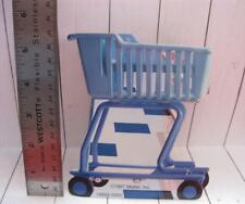 BARBIE KELLY DOLL 1998 cardboard SHOPPING CART Cut-out for 1:6 SCALE DIORAMA