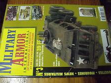 µ?. Revue Military Armor n°3 P107 BU Gulaschkanone JS II M Transport char M25