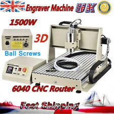 3 Axis Cnc 6040 1.5Kw Router Engraver Machine Milling Wood/Metalworking Cutter