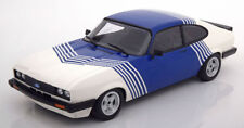 MINICHAMPS 1978 Ford Capri 3.0 White/Blue 1:18 LE 350pcs (NEW STOCK)