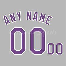 Béisbol Colorado Rockies 1993 inaugural Jersey número Personalizado Kit un-stitch